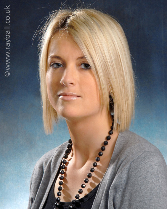Portrait of pretty Banstead girl at Epsom Photography Studio Surrey.