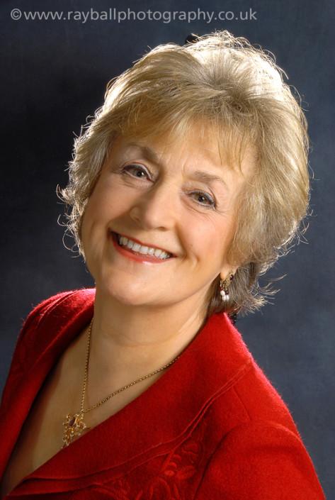 Actress portrait Ewell, Surrey in Epsom Photography studio.