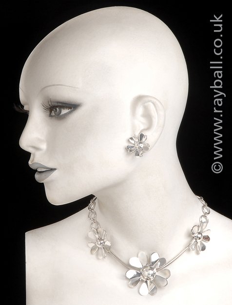 Banstead Jewellery on manikin in Epsom Photography studio