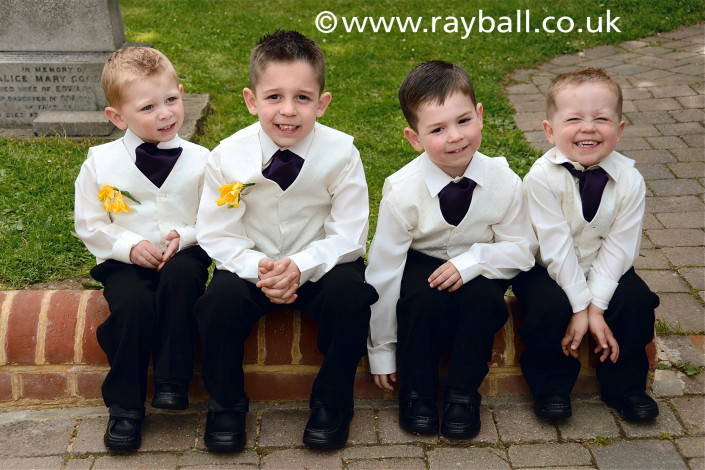 Page boys New Malden, Kingston by Epsom Photography Surrey..