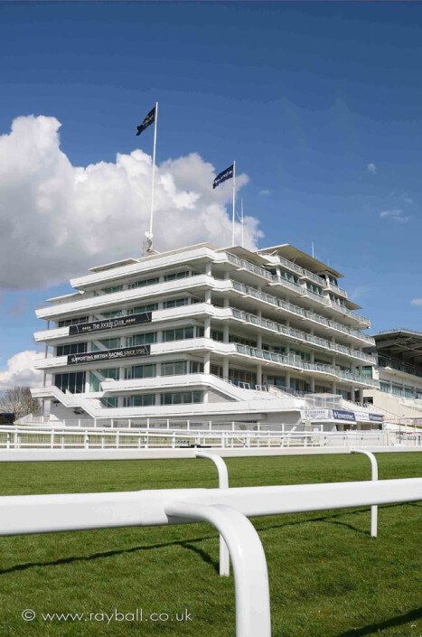 Epsom Grand Stand by Epsom Photography Surrey.