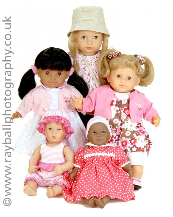 Commercial Photographers in Surrey Epsom Photography Shoot Esher Dolls.