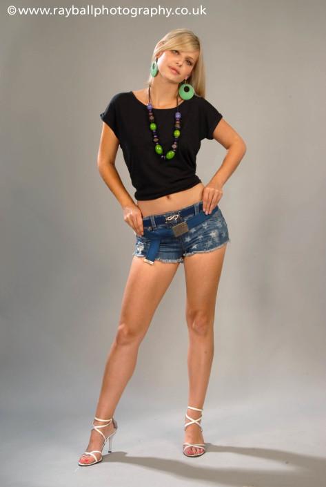 Carshalton girl modelling Headley fashion accessories at Epsom Photography Studio Surrey.y