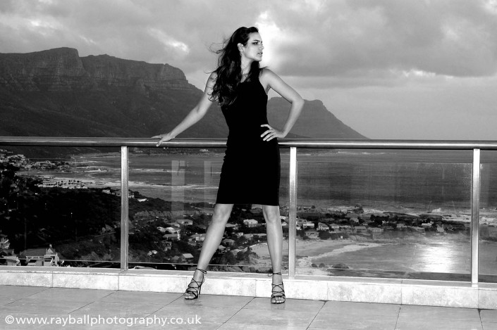 Fashion photographer Surrey and South West London, Epsom studio. Stoneleigh model in Cape Town.