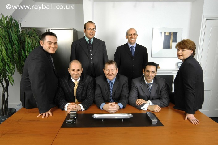 Corporate portrait group Banstead by Epsom Photography Surrey