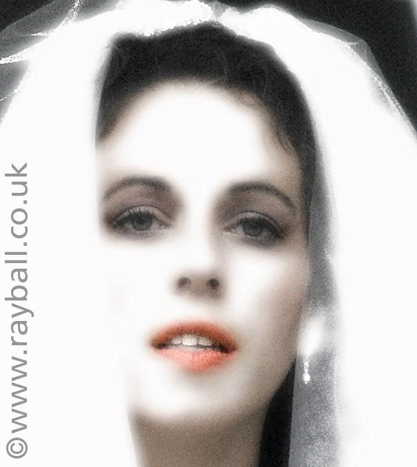 Bride portrait at wedding Coulsdon, Croydon, South London, by Epsom Photography Surrey.