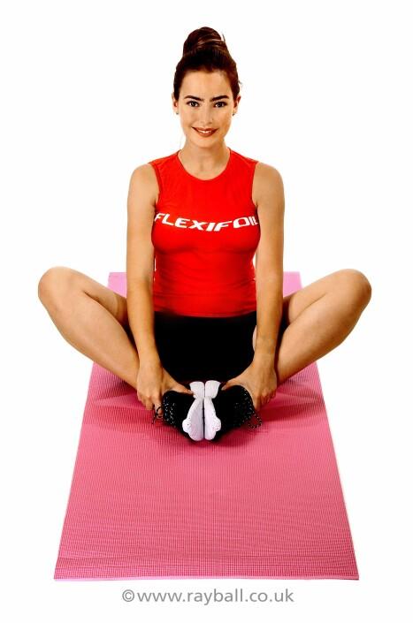 Stoneleigh gymnast at Epsom Photography Studio Surrey for Flexifoil Leatherhead