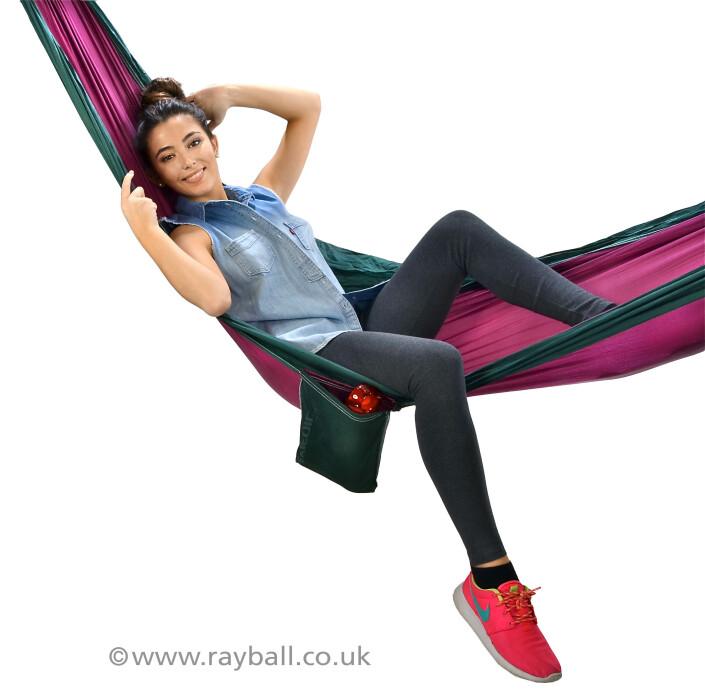 Burgh Heath girl in hammock at Epsom Photography Studio Surrey.