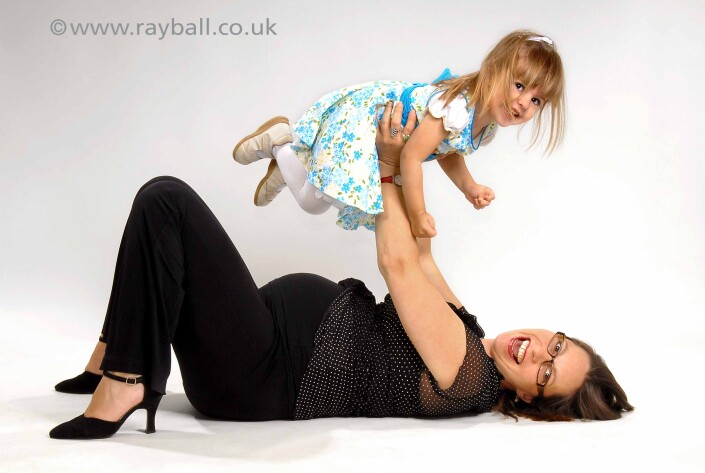 Pregnant Belmont mum at Epsom Photography Studio Surrey