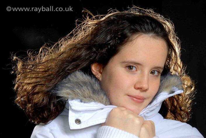 Banstead girl at Epsom Photography Studio Surrey