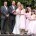 Wedding party group at Leatherhead Registry