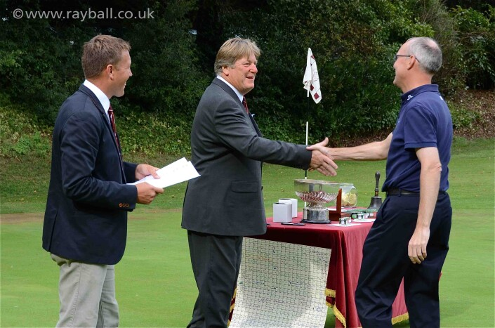 Cheam winner at Epsom Golf Club by Ray Ball Photography Surrey