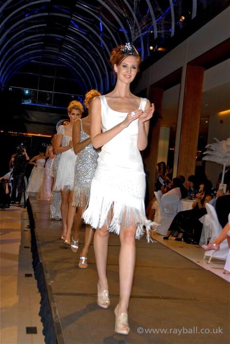 Belmont fashion model on cheam catwalk by Epsom Photography Surrey