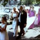 Bride, father, bridesmaids and car Morden by Epsom Photography.