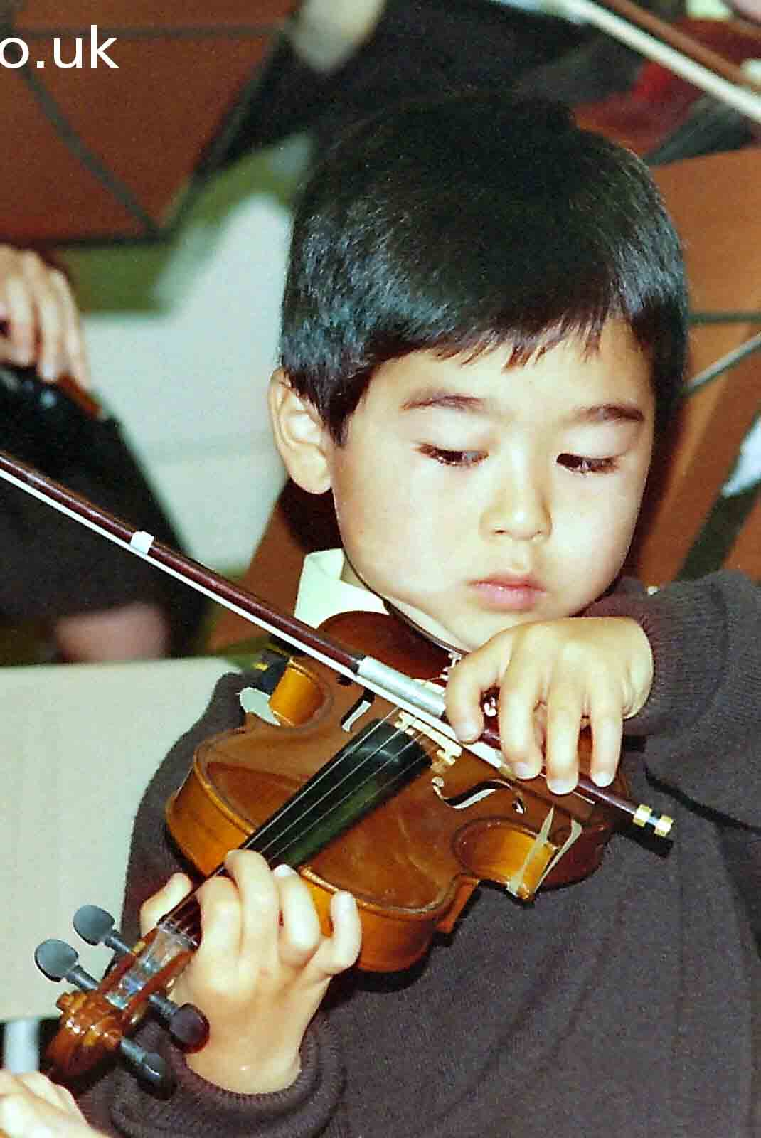 My beautiful picture of young violinist, Cheam by Epsom Photography..