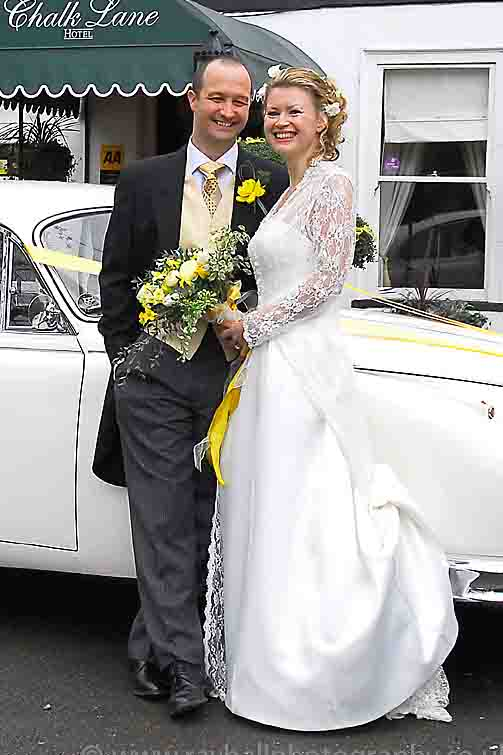 Bride and Groom from Kingston by Epsom Photography.