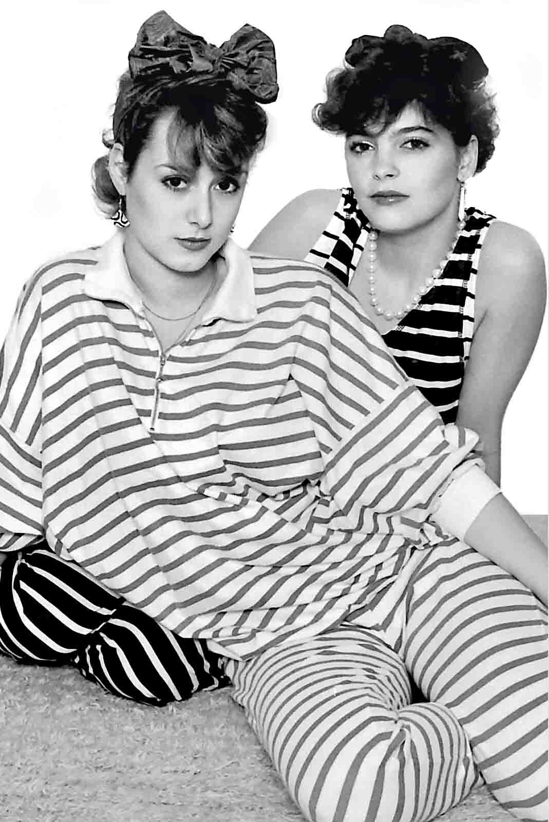 My picture of two beautiful girls from Tadworth at Epsom Photography Studio Surrey.