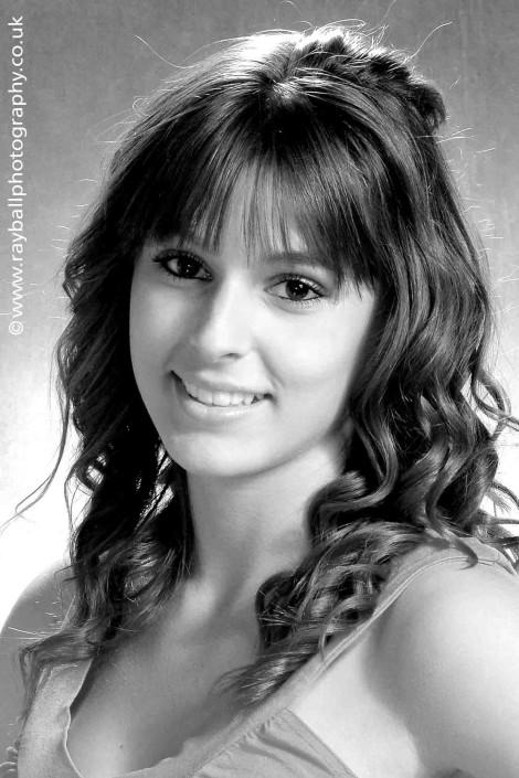 Beautiful Burgh Heath girl portrat at Epsom Photography Studio.