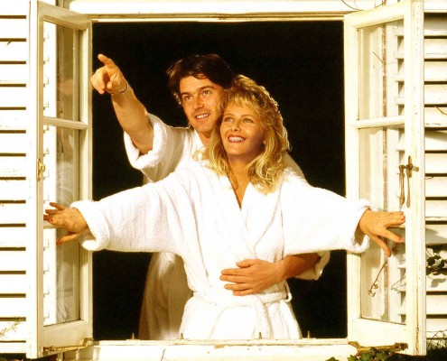 Honeymoon couple Sunbury.