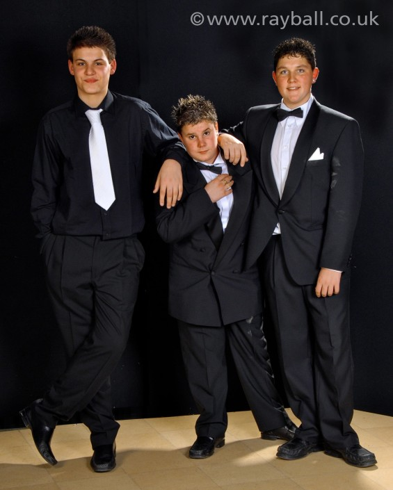 Boys ready for the prom at Therfield School Leatherhead by Epsom Photography Surrey