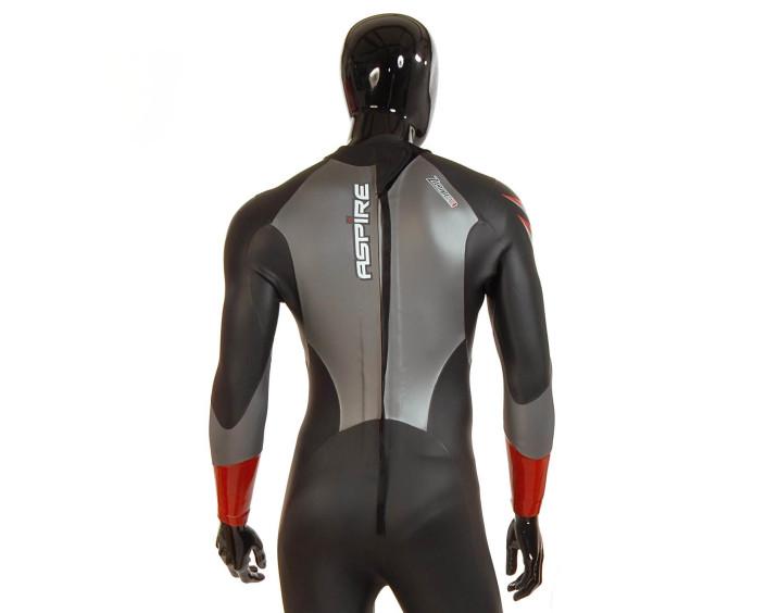 Banstead manikin wearing wetsuit
