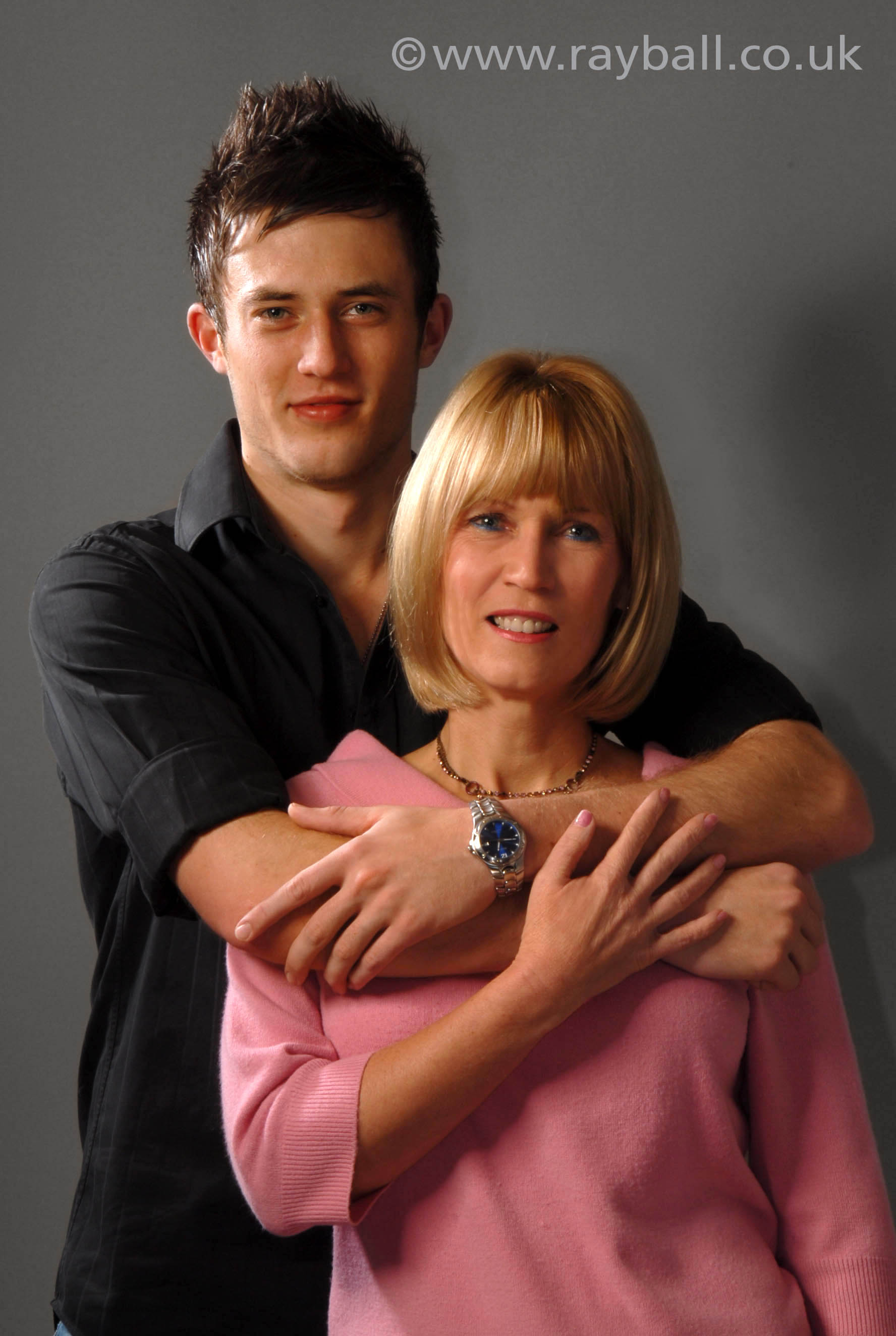 Mother and son from Ewell at Epsom Photography Studio Surrey.