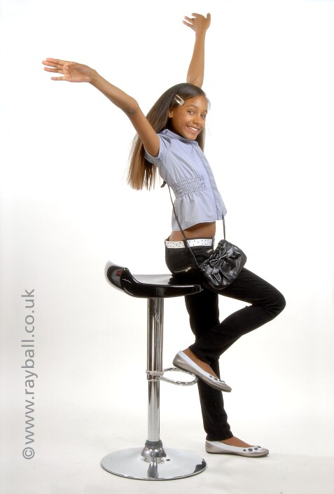 Young dance performer from Horsham at Epsom Photography Studio Epsom.
