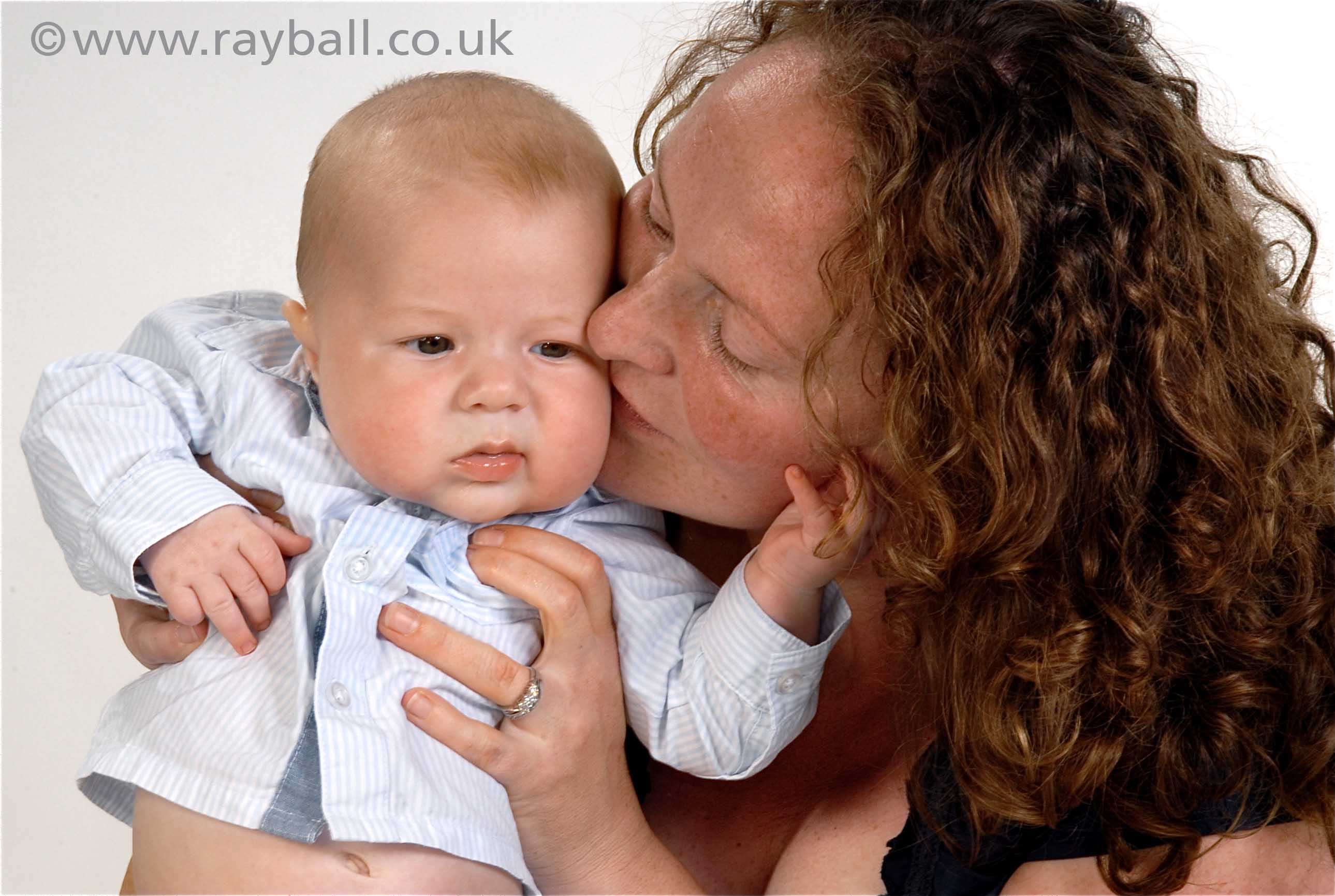 Portrait of Ashtead todder and mum at Epsom Photography Studio Surrey.