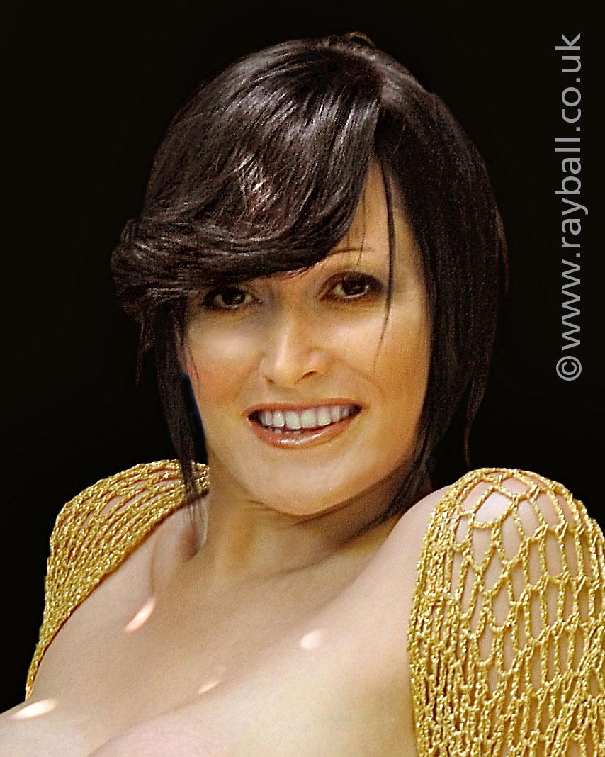 Glamorous Banstead model at Epsom Photography Studio Surrey