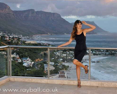 Cheam fashion model in Cape Town by Epsom Photography Surrey.