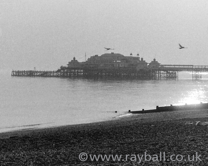 My beautiful picture by Nick Ball of Brighton's West Pier. Epsom Photography Surrey