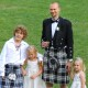 Groom, pageboy and bridesmaids Stoke D'Abernon