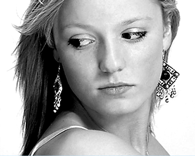 Blonde model headshot at Epsom Photography Studio