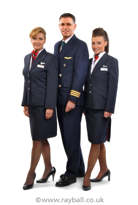 Cheam, Sutton air crew at Epsom Photography Studio