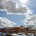 Epsom general Hospital car park and sky by Epsom Photography Surrey