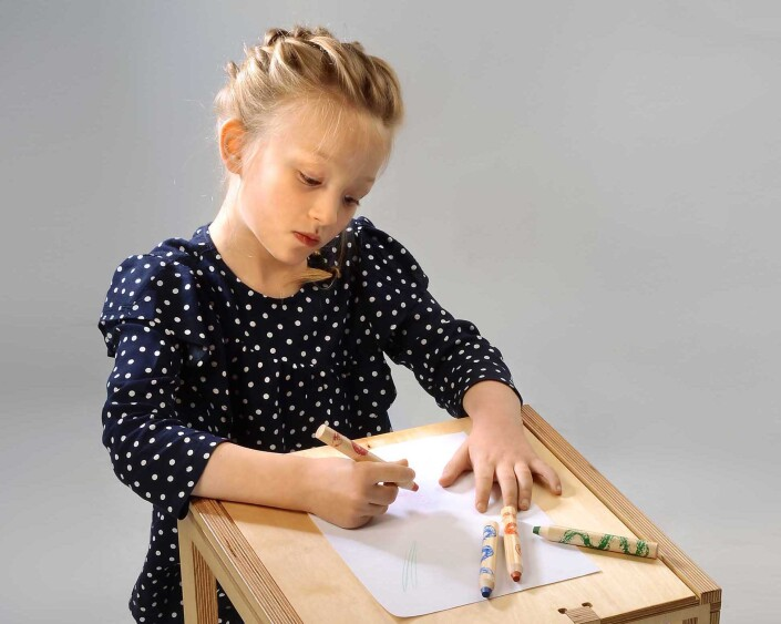 Crayoning at Epsom Photography Studio Surrey