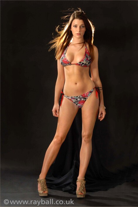 Beautiful Headley model in bikini from Worcester Park at Epsom Photography Studio Surrey.