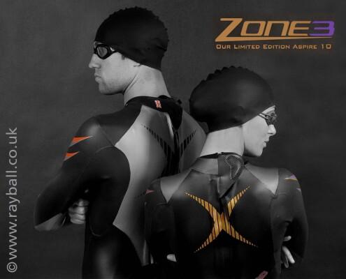 Swimwear from Worcester Park on models from Stoke D'Abernon.