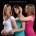Studio portrait shoot of three girls from Sutton.