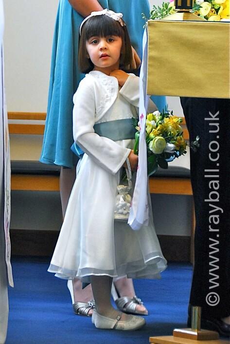 Bridesmaid at Tolworth wedding.