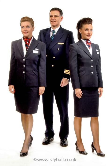 Oxshott, Elmbridge crew advertising airline clothing style at Epsom Photography Studio Surrey.