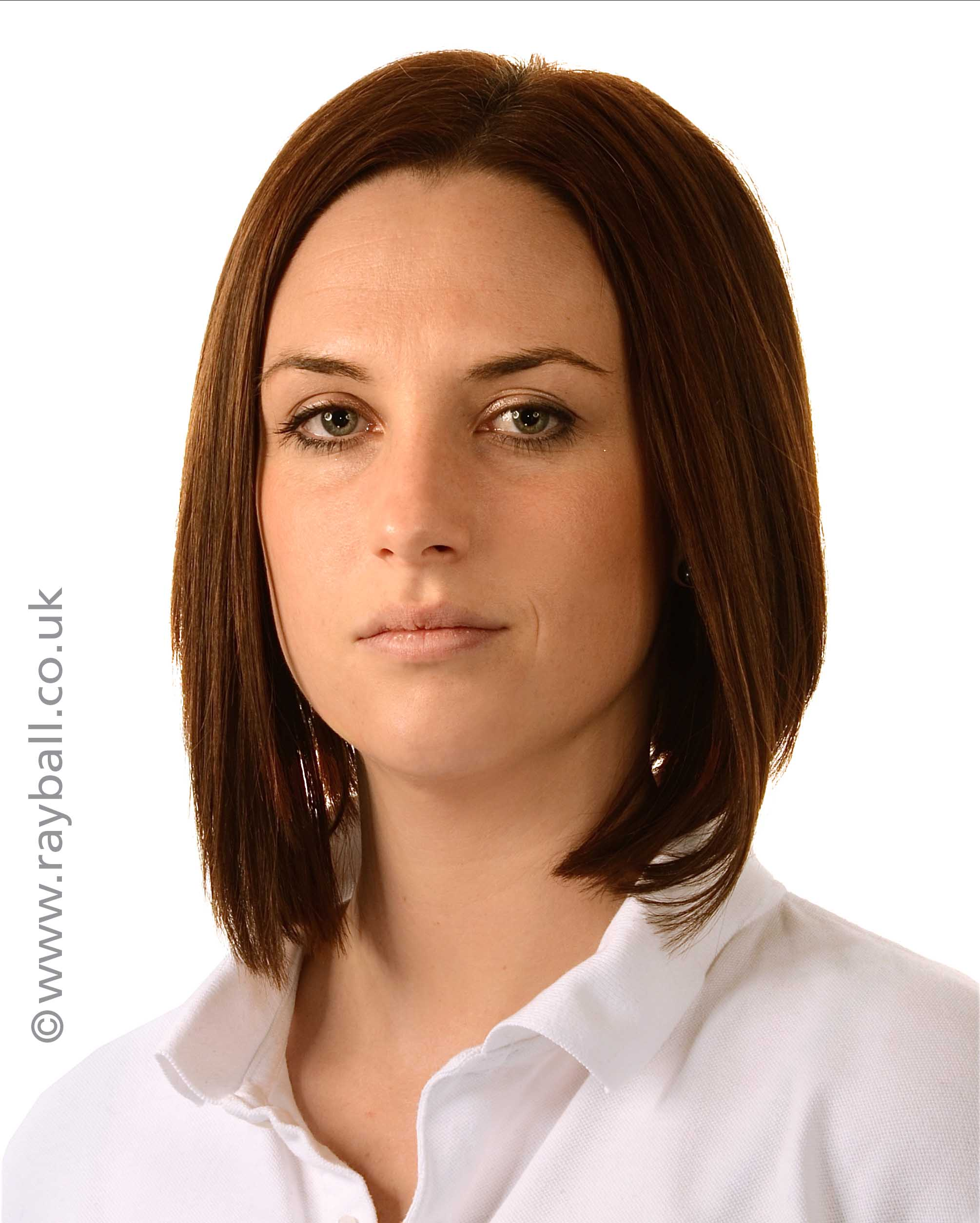 Corporate portrait of young lady from Sutton at Epsom Photography Studio Surrey.