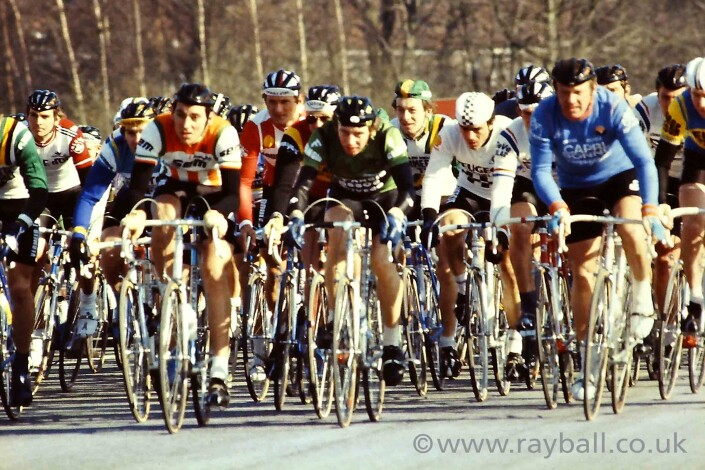My beautiful photograph of Esher cycling event.
