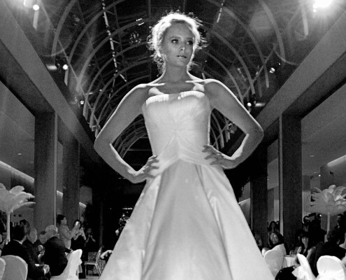 Worcester Park model on runway in Fulham London SW6 by Epsom Photography Surrey.
