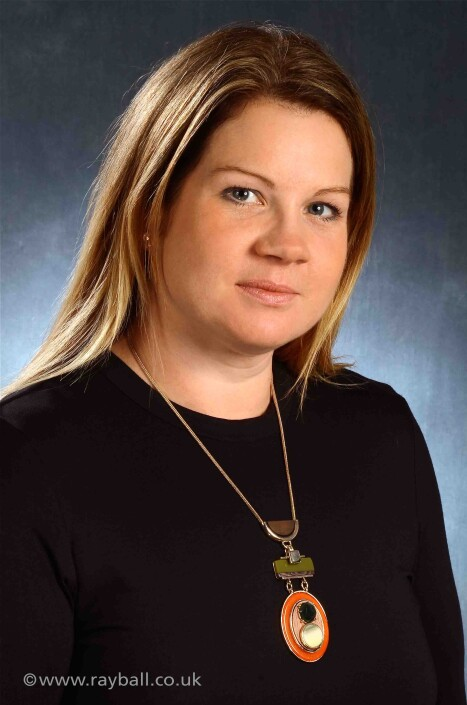 Corporate headshot for Worcester Park female employee.